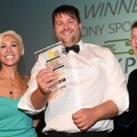 Driving force in current crisis PR Story Tony with award