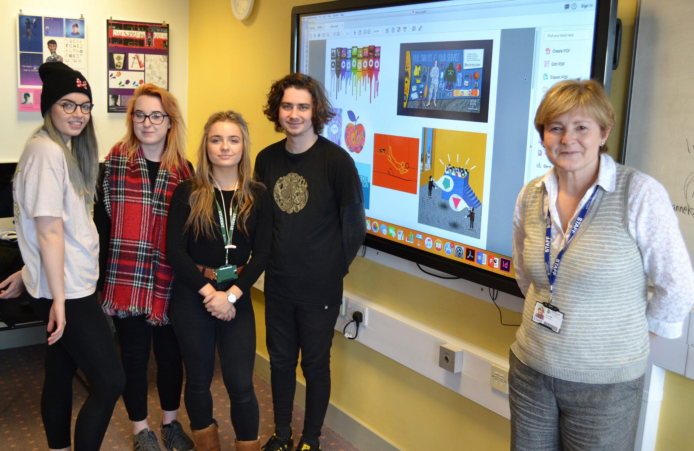 Tresham College Graphic Design student competition 2019