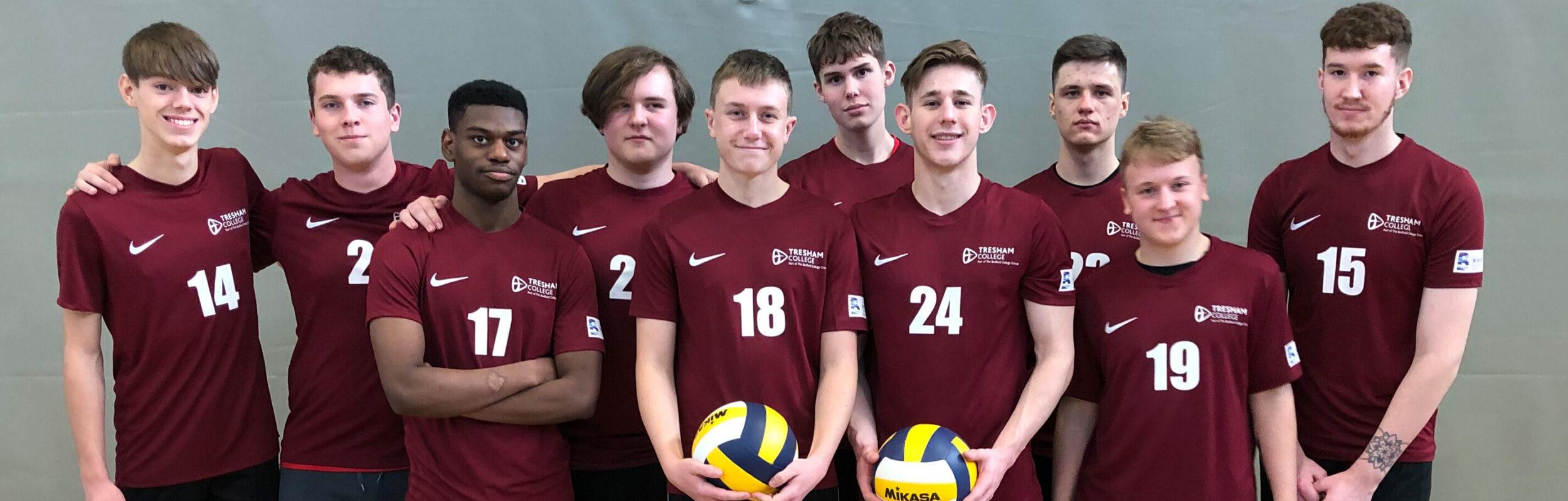 Banner image Tresham College Volleyball Team