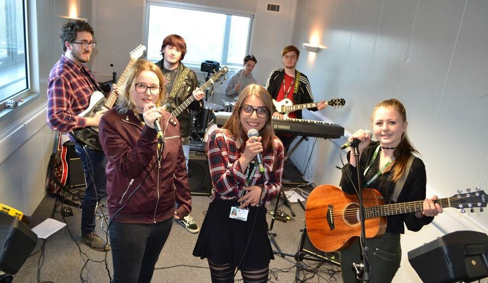 Tresham College Music students competition winners