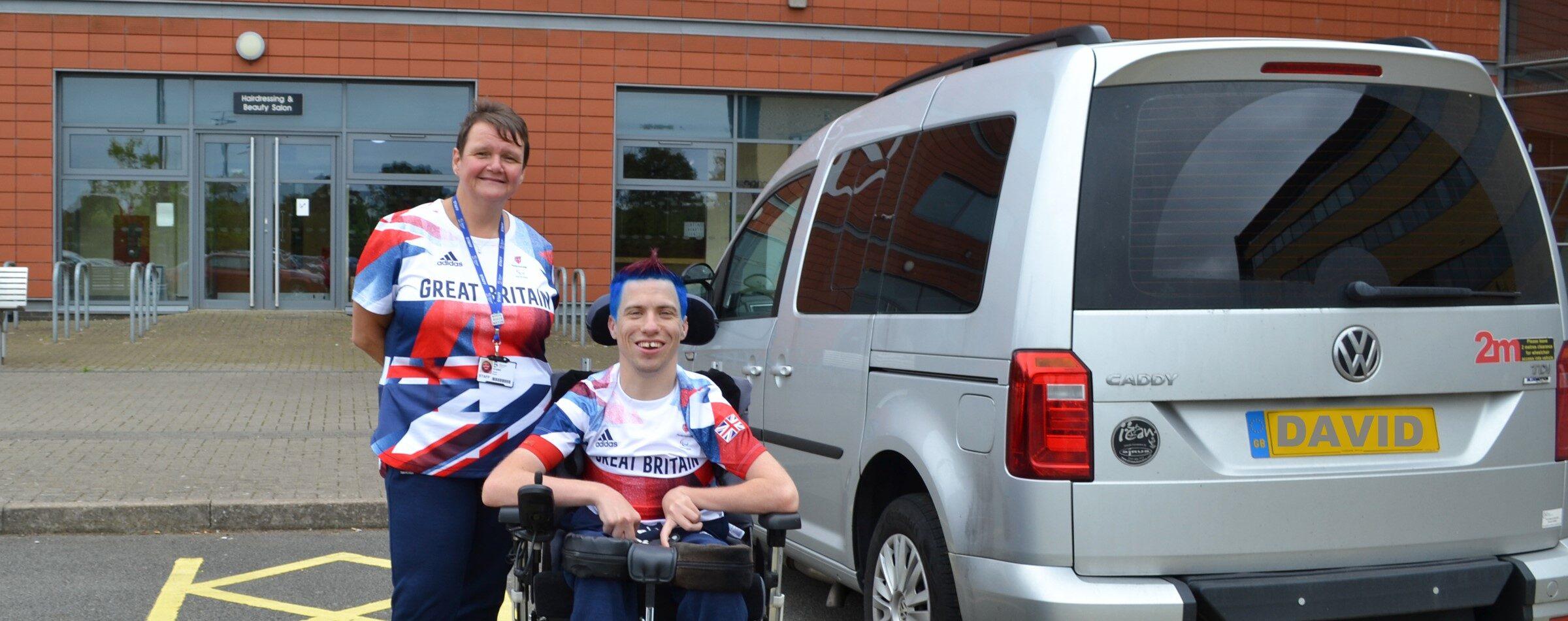 Tresham trail to Paralympics