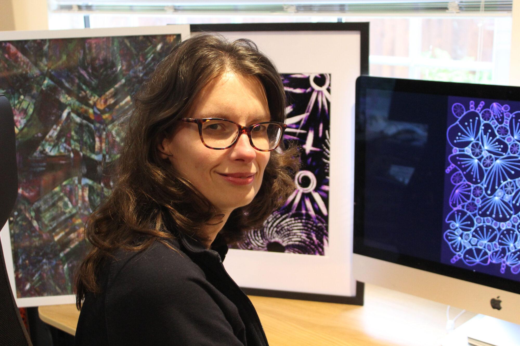Joy Thomas, of Wellingborough bedford college HNC graphic design